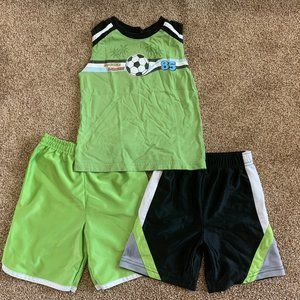 Bundle of 3 toddler boys clothes 3T
